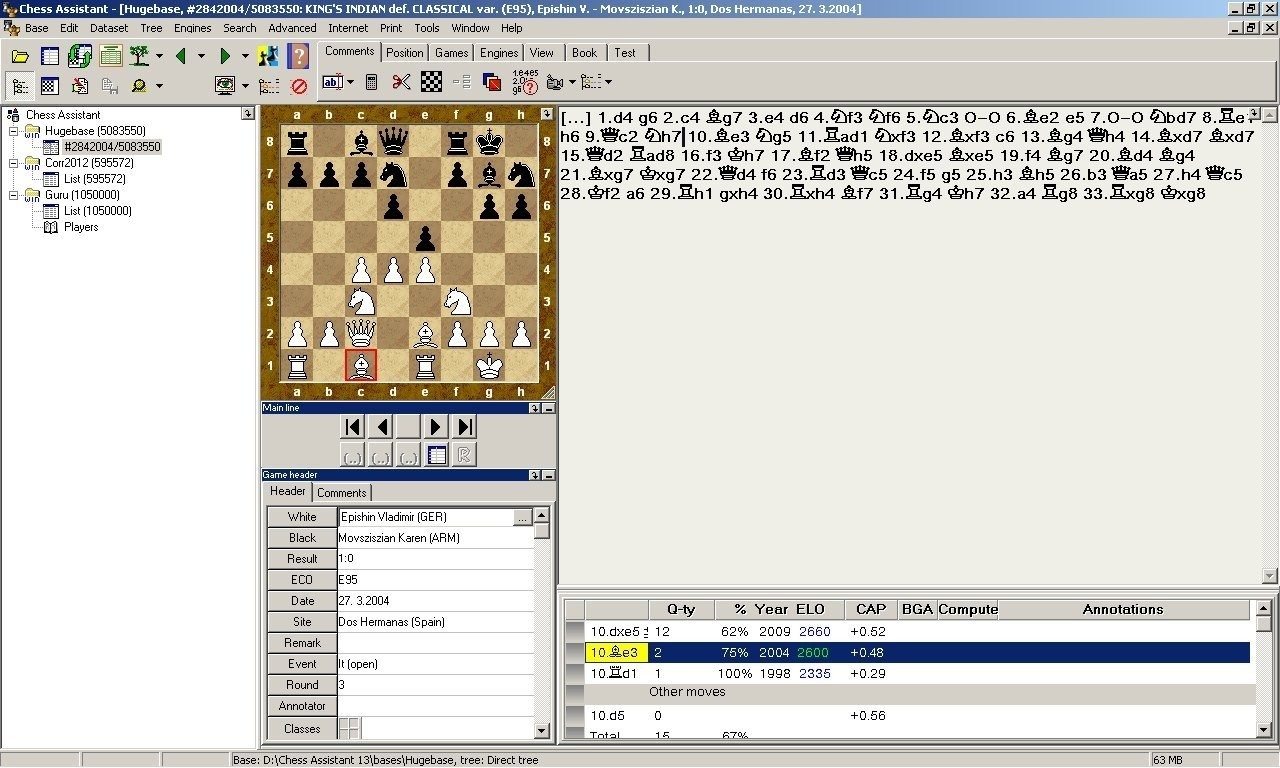 Chess Assistant 19 Professional with Houdini 6 PRO | House Of Staunton