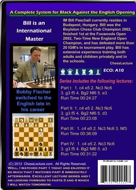A Complete System for Black Against the English Opening Back