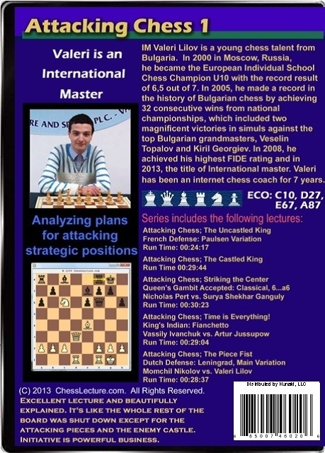 Attacking Chess 1 Back