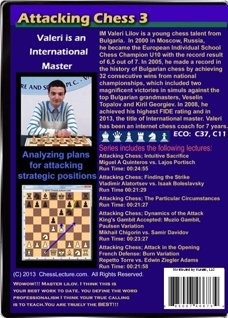 Attacking Chess 3 Back