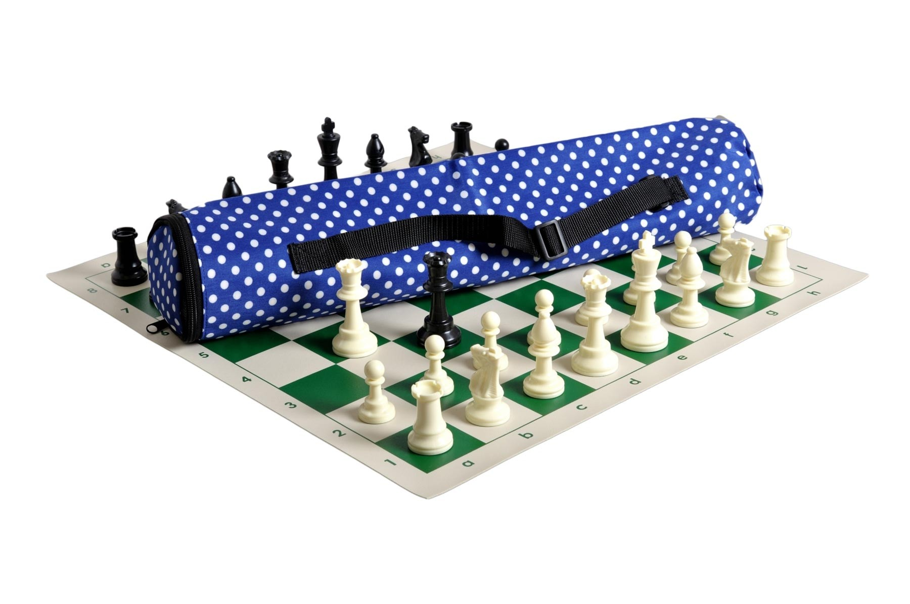 Forest Green Bag Single Weighted Quiver Chess Set Combination Board