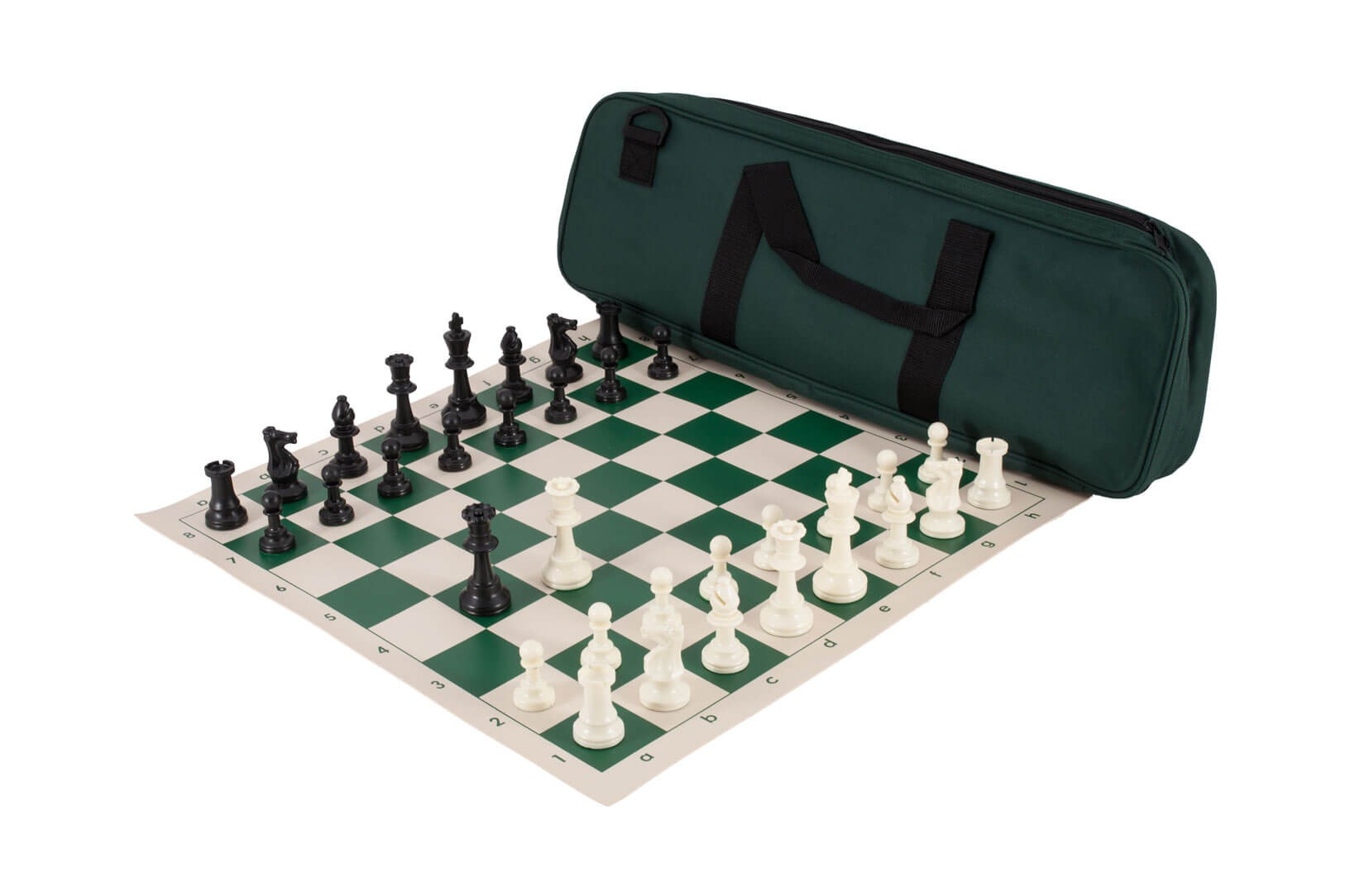 Deluxe Chess Combo Single Weight Vinyl Board Deluxe House