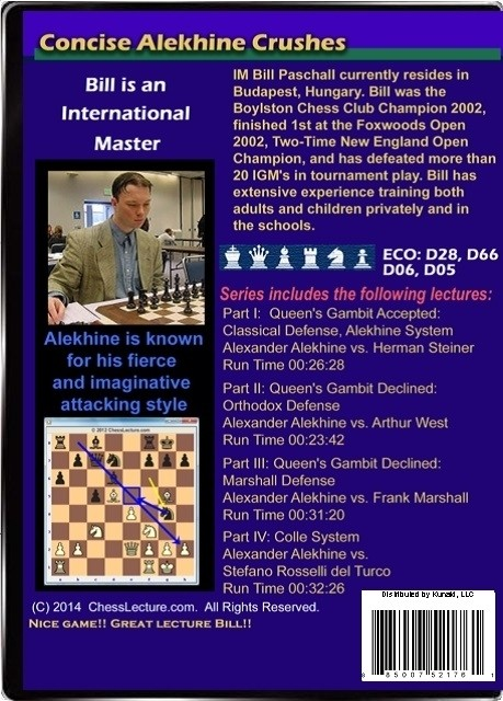 Concise Alekhine Crushes Back
