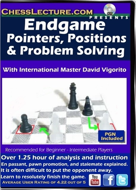 Endgames Pointers, Position and problem solving Front