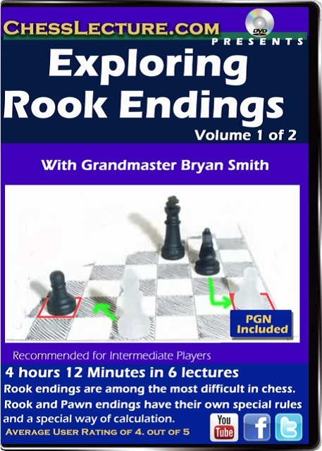 Exploring Rook Endings Volume 1 Front