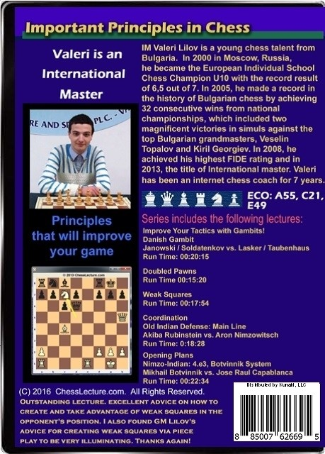 Important Principals in Chess Back