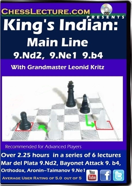 King's Indian Main Line 9.Nd2, 9.Ne1, 9.b4 front