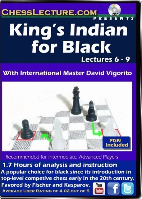 Kings Indian for Black Lectures 6-9 Front