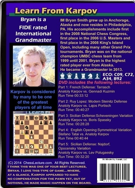 Learn From Karpov Back