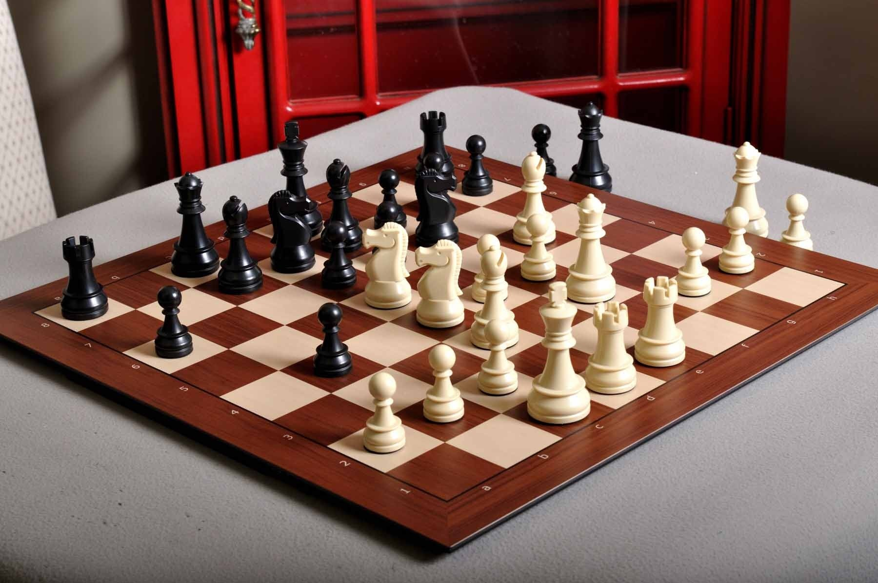 Electronic Plastic Chess Pieces - Designed for DGT Electronic and Smart Chess Boards  House Of