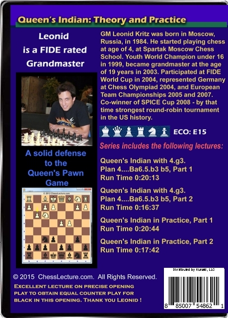 Queen's Indian - Theory and Practice Back