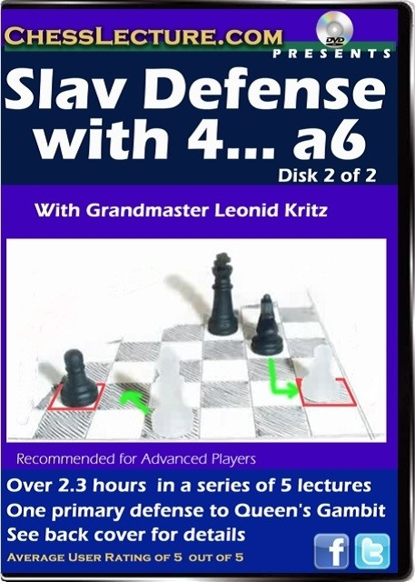 Slav Defense with 4... a6 disk 2 front