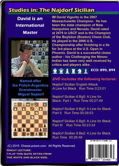 Studies in: The Najdorf Sicilian V1 Back