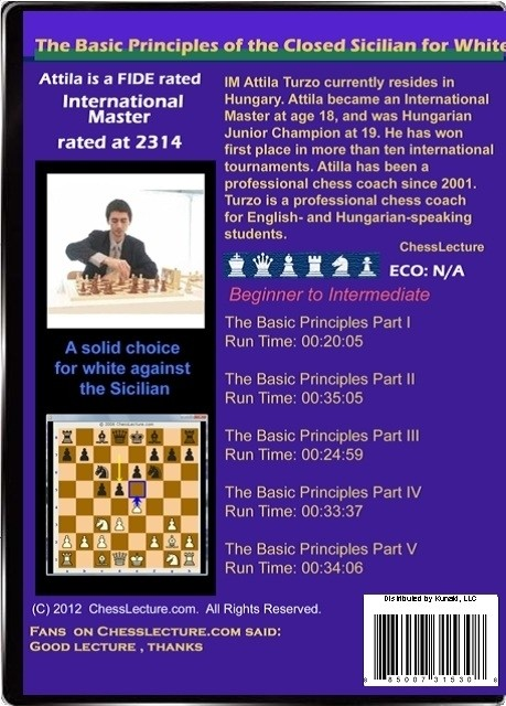The Basic Principles of the Closed Sicilian for White Back