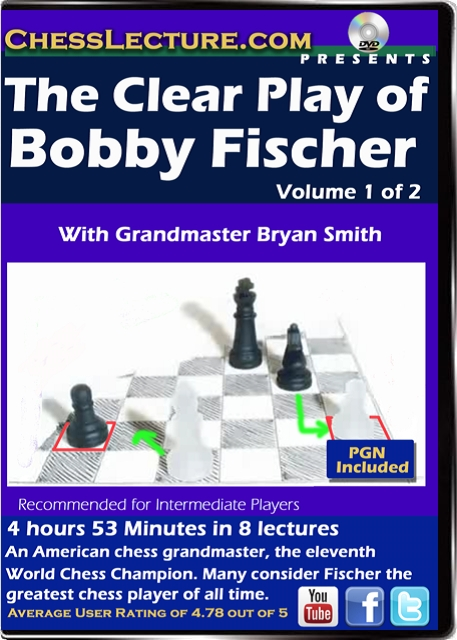 The Clear Play of Bobby Fischer V 1 Front