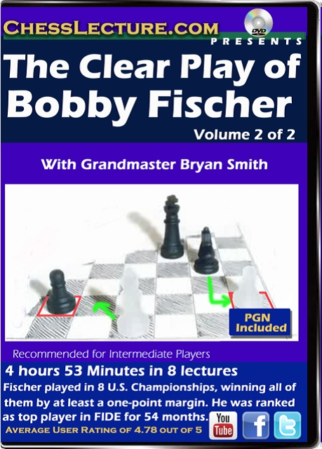 The Clear Play of Bobby Fischer V 2 Front