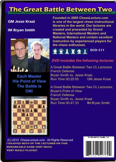 The Great Battle Between Two ChessLecture Lecturers Back
