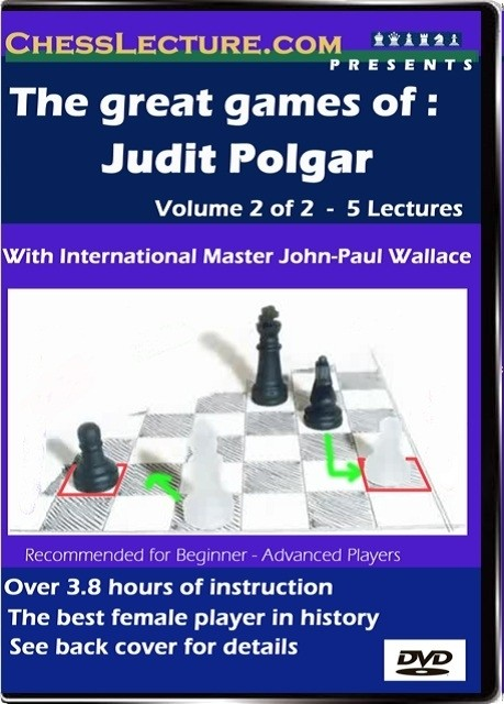 The great games of Judit Polgar v2 front