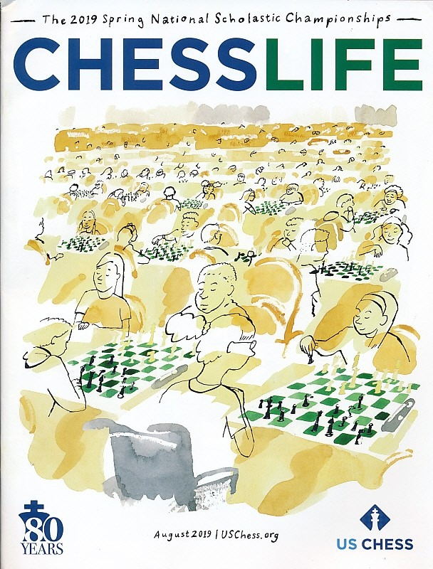 Chess Life Magazine - August 2019 Issue | House Of Staunton