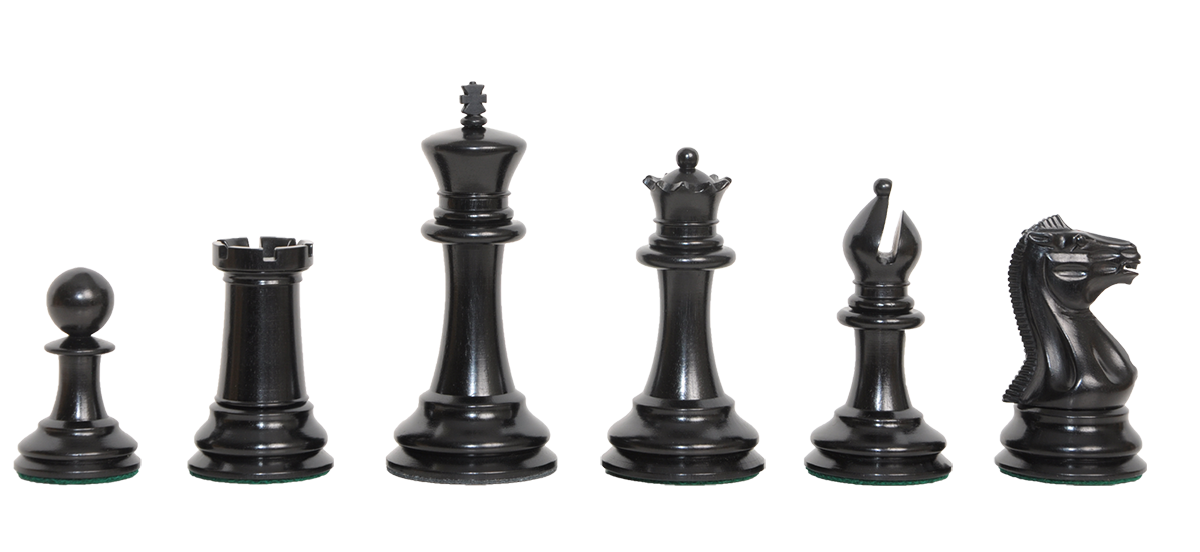 The Camaratta Collection - The 1850 Morphy Series Chess Pieces