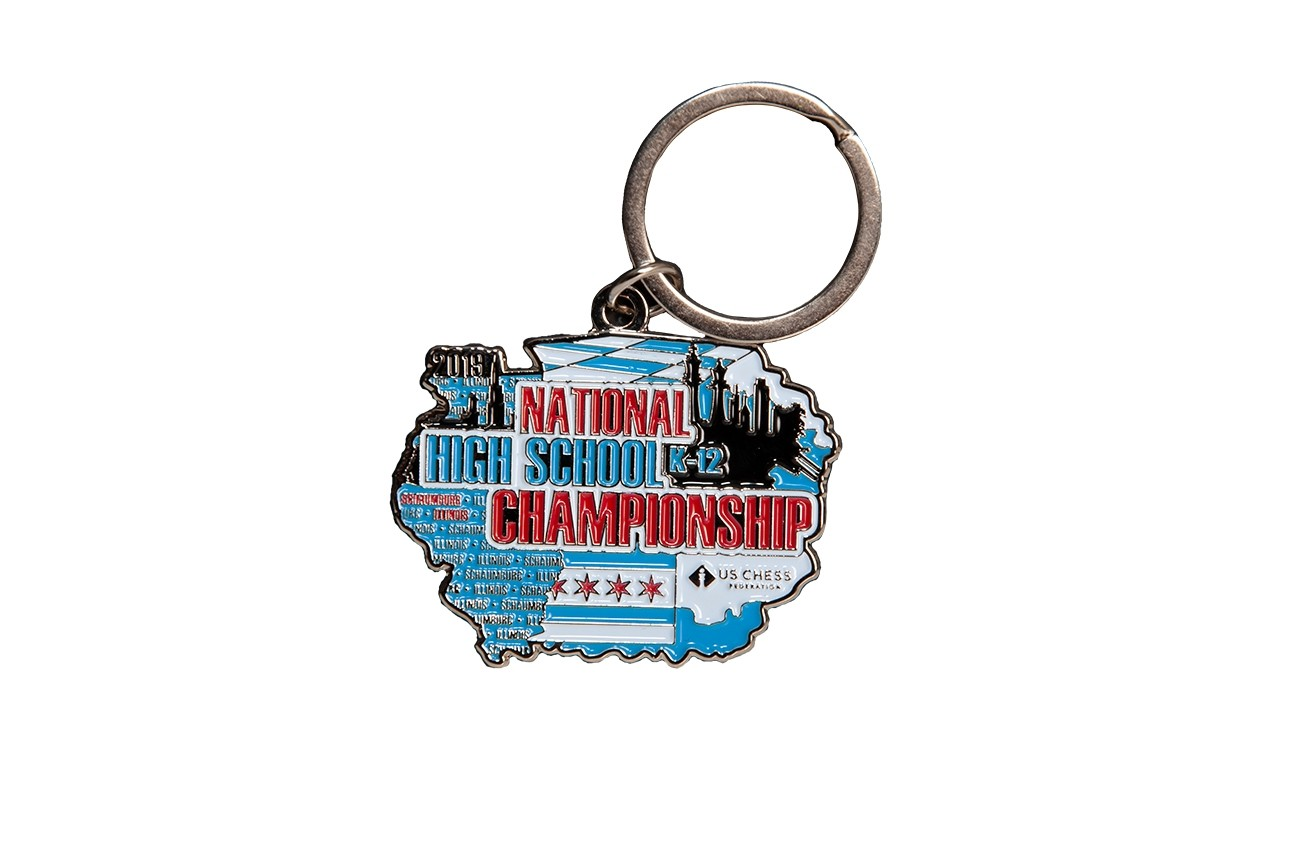 High School 2019 National Championship - Metal Keychain | House Of