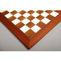 Indian Rosewood and Bird's Eye Maple Standard Traditional Chess Board