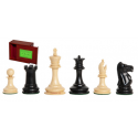 """The Lasker Series Library Chess Pieces - 2.875"""" King - Includes Free Slide-Top Box"""