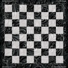 Abstract No. 1  - Full Color Vinyl Chess Board