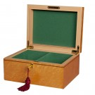 Premium Chess Box - Bird's Eye Maple