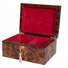 Signature Premium Chess Box - Olmo Burl & Maple