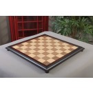 """CLEARANCE - Walnut and Maple Classic Traditional Chess Board - 2.25"""" Squares - No Logo"""