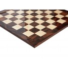 Walnut Burl & Maple Signature Traditional Chess Board - Gloss Finish