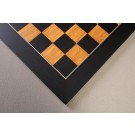 Blackwood and Olivewood Standard Traditional Chess Board - Satin Finish
