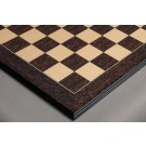 Tiger Ebony and Maple Standard Traditional Chess Board