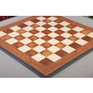 Elm Burl and Bird's Eye Maple Superior Traditional Chess Board