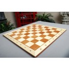 """CLEARANCE - Maple and Mahogany Wooden Tournament Chess Board - 2.25"""" Squares"""