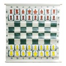 "28"" Pouch-Style Chess Demonstration (Teaching) Board Set with Deluxe Carrying Bag"