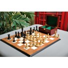The Leuchars Series Chess Set, Box, & Board Combination