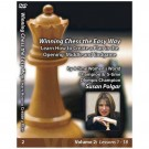 E-DVD WINNING CHESS THE EASY WAY - VOLUME 2 - Learn How to Create a Plan in the Opening, Middlegame and Endgame