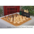 The Margate Series Luxury Chess Set, Box, & Board Combination