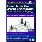 Learn from the World Champions - Chess Lecture - 2 DVDs - Volume 58