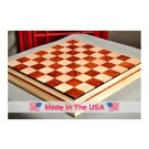 "Signature Contemporary II Chess Board - Curly Maple / Pomelle Bubinga - 2.5"" Squares"