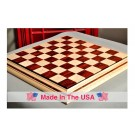 "Signature Contemporary II Chess Board - Curly Maple / Cocobolo - 2.5"" Squares"