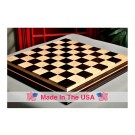 "Signature Contemporary IV Luxury Chess board - AFRICAN PALISANDER / CURLY MAPLE - 2.5"" Squares"