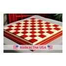 "Signature Contemporary IV Luxury Chess board - PADAUK / CURLY MAPLE - 2.5"" Squares"