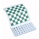 """US Chess Giant Checkbook Magnetic Travel Chess Set - 12"""" x 12"""" Board"""