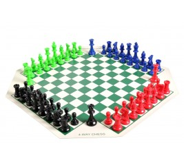 Green Triple Weigh Basic Scholastic Chess Club Starter Kit For 20 Members