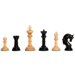 "The Gloriana Series Luxury Chess Pieces - 4.4"" King"