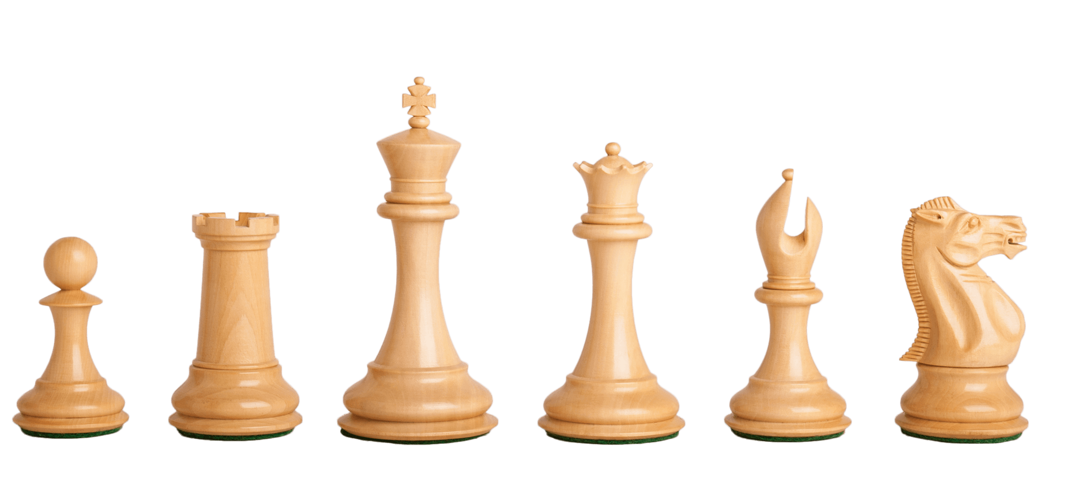 """Indian Rosewood The Noble Chess Set Pieces Only 3.75/"""" King"""