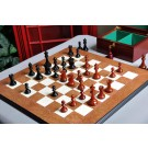 The Reykjavik II Series Prestige Chess Set, Box, & Board Combination